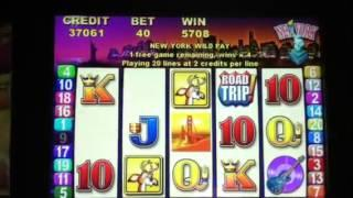 Road Trip Slot Machine Bonus Spins
