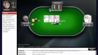"PokerSchoolOnline Live Training Video:   "" It's Time to Duel Basics "" (18/06/2012) HoRRoR77"