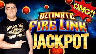 Ultimate Fire Link Slot Machine Max Bet HANDPAY JACKPOT - Big Money On Fire Link Feature !SE-3  EP-7