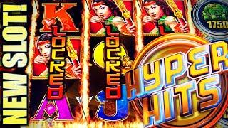 •NEW SLOT! HYPER HITS• 3-LOCKED LADY WILDS!? • Slot Machine Bonus (IGT)