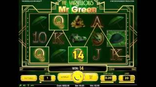 NetEnt The Marvellous Mr Green Video Slot - Mr Green Casino Exclusive