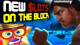 NEW SLOTS ON THE BLOCK - New Slot Machines - Big Win - Slot Machine Bonus