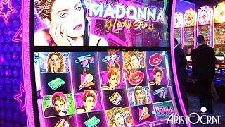 Madonna Lucky Star Slot Machine from Aristocrat