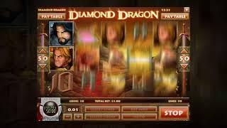 Diamond Dragon Online Slot by Rival Gaming - Free Spins, Super Round, Diamond Pick Bonus!