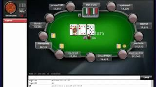 """PokerSchoolOnline Live Training Video:"""" Sunday Special with Donald """" (11/12/2011) TheLangolier"""