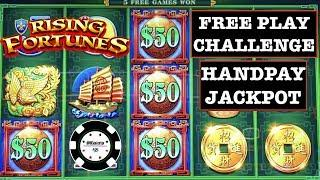 •️$2500 FREE PLAY CHALLENGE •️HANDPAY FORTUNES 3- ECHO FORTUNE & RISING FORTUNES