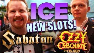 NEW SLOTS - Sabaton + Ozzy Osbourne announced - ICE 2019 | Vlog 36