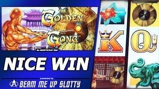 Golden Gong Slot Bonus - Free Spins, Nice Win