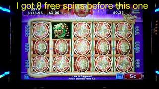 "MEGA BIG WIN!. ""Flying Fortune Slot Machine"" ( 5 cent denom)"