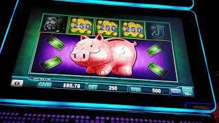 MAX BET PIGGY BANKIN LOCK IT LINK JACKPOT BONUS GAME HIGH LIMIT SLOTS