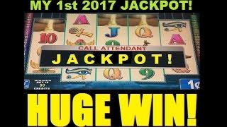 JACKPOT HANDPAY HUGE WIN 2017! SLOT MACHINE BONUS – Egyptian Sunset Slot Win! ~ DProxima