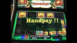 DA JI DA LI •FREE GAME BONUS•HANDPAY ALERT