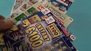 "Friday Scratchcards...Super 7's..Vs..Luxury Lines..see Nicky""s pick.&.(Who's Guest star tonight)"