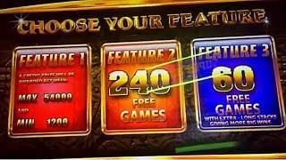 240 Free Games - Wonder 4 Boost Rhino Charge Slot Machine!