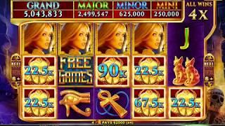 SACRED SCARAB Video Slot Casino Game with a MIGHTY CASH BONUS
