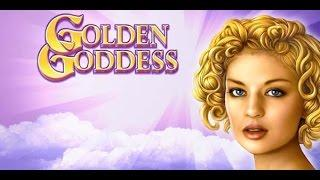 Golden Goddess & Goddess of Gold slot machine, live play, bonuses and big win.