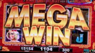 ** MEGA WIN ** NEW GAME REVIEWED ** THE GREAT WINALDO ** SLOT LOVER **
