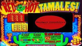 BUFFALO GOLD & RED HOT TAMALES ~ Spinning & Winning ~ Live Slot Play @ San Manuel