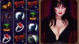 ELVIRA: MISTRESS OF THE DARK Video Slot Game with an ELVIRA FREE SPINBONUS