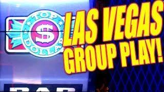 • $500 TOP DOLLAR + OTHER SLOTS • • GROUP PULL! @ ARIA LAS VEGAS • | Slot Traveler