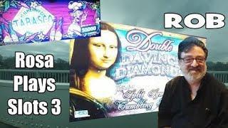 • Rosa Plays Slots - Day 3 - Rosa Elliiott - Rob - The Shamus of Slots - $120 •