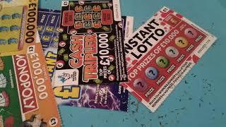 BIG Friday Scratchcard game..fast £500's..Instant £100..Monopoly..Instant LOTTO..CashTripler