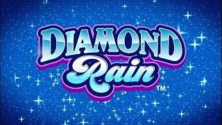 Diamond Rain Slot - NICE SESSION, ALL FEATURES - BACKUP SPIN SUCCESS!