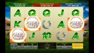 Frankie Dettori Sporting Legends Progressive Jackpot Online Slot from Playtech
