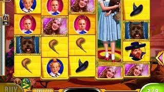WIZARD OF OZ: YELLOW BRICK ROAD Video Slot Game with a FREE SPIN BONUS