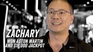 Zachary Wins an Ashton Martin AND $18K Jackpot at San Manuel Casino! [Jackpot Stories - Ep.14]
