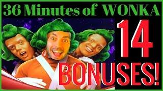 ORANGE is the New BRIAN • 14 Wonka Bonuses in 36 Minutes -Theme Thursdays • Live Play Slots in Vegas