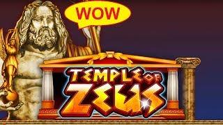 Temple of Zeus Slot - GREAT 100x BIG WIN - Power Hits Progressives!