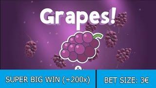 SUPER BIG WIN on Fruit Warp Slot - 3€ BET!