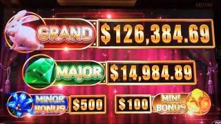 •YES ! TRYING HIGH LIMIT VERSION •HOLD ONTO YOUR HAT Slot $125 Free Play Live Play•San Manuel•彡栗スロ