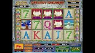 Ancient Wonders Slot   Ancient Wonders Feature Nice Win