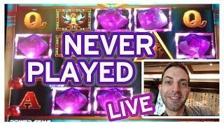 *NEVER PLAYED* Power Gems • @ Pechanga Casino • Slot Machine Pokies w Brian Christopher