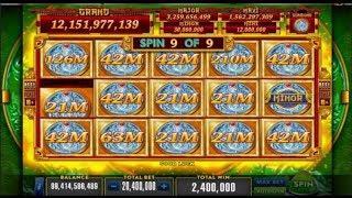 """New Slot """"Long Teng Hu Xiao"""" Huge WINS! (Heart Of Vegas)"""