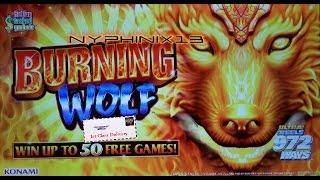 Konami | Burning Wolf Slot Line Hits & Bonuses BIG WIN