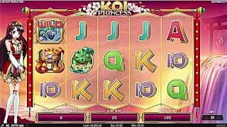 NETENT Koi Princess Slot REVIEW Featuring Big Wins With FREE Coins