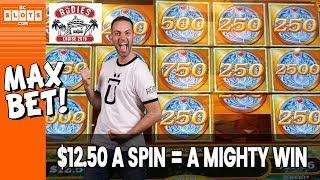 • MIGHTY Win $12.50/Spin • Tournament @ Rudies Cruise • BCSlots