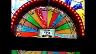 Super Monopoly Money Bonus + Wheel - 5c WMS Video Slots