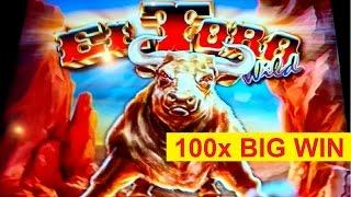 El Toro Wild Slot - 100x BIG WIN - Retrigger Bonus!