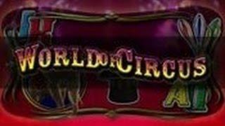 Merkur World of Circus | Freispiele 20€ Einsatz HIGHROLLER ACTION | Online Version