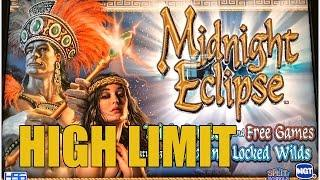HIGH LIMIT-MIDNIGHT ECLIPSE SLOT MACHINE BONUS