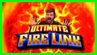 •HIGH LIMIT•$10/SPIN Ultimate Fire Link Slot Machine Bonus Winning W/ SDGuy1234