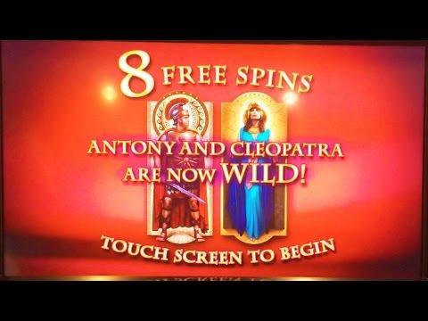 antony and cleopatra slot machine