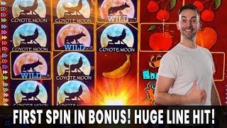 • WILD for HUGE LINE HITS • High Limit $40 Spins! • 88 FORTUNES High Limit PAYS OFF