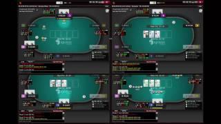 50NL Ignition Cash game 4-Tables No Limit Holdem Poker