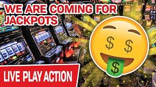 ⋆ Slots ⋆ LIVE High-Limit Slots… WE ARE COMING FOR JACKPOTS ⋆ Slots ⋆ HUGE Handpays Ahead