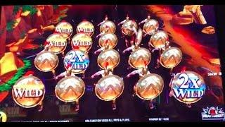 LEONIDAS 2 Live play and bonuses ~ CHILI GOLD ~ Lightning Link and more slot machine pokies!